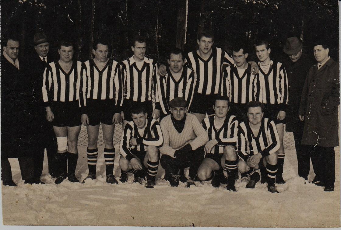 1963 in Westbevern  mit Vorstand W. Sauer August Thenti H. Meißner B.Meinersmann